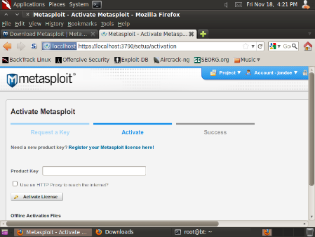 Metasploit License Key Crack